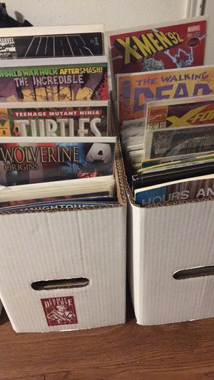 3 boxes of comics for Sale in San Antonio, TX