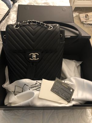 Chevron Chanel backpack for Sale in Irvine, CA