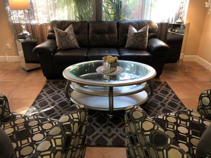 Simmons Sofa & 2 Ashley Arm chairs & more for Sale in Tracy, CA