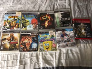 Ps3 Games for Sale in Dallas, TX