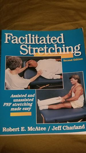 Facilitated Stretching Book by Robert McAtee & Jeff Charland for Sale in Norfolk, VA