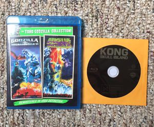 3 Monster Movie Blu-Ray Bundle - Pre-Owned for Sale in Rocky Mount, NC