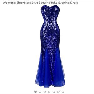 Blue Prom Dress for Sale in Grafton, OH