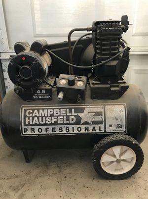 20 gallon Campbell Hausfeld compressor for Sale in Fresno, CA