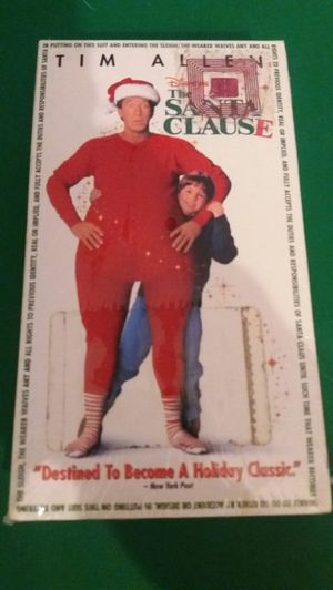 Disney's The SANTA CLAUSE (VHS) NEW! Tim Allen! for Sale in Lewisville, TX
