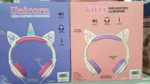 Available-> Kitty or Unicorn Wireless headphones for Sale in Los Angeles, CA