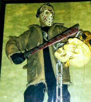 Sideshow Collectibles Freddy VS. Jason 12 Inch Action Figure Jason for Sale in Phoenix, AZ