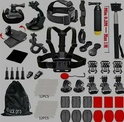Black Pro Common Outdoor Sports Camera Kit for Sale in Zephyrhills,  FL