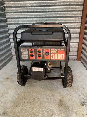 Generator 5000 running watts works for Sale in Margate, FL