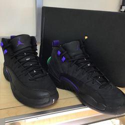 Air Jordan 12 Retro Black&purple 0711 for Sale in Everett,  WA