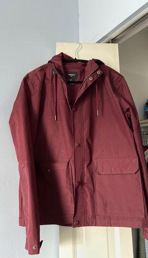 Maroon Rain Jacket (Medium) for Sale in Fairfax, VA