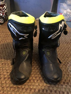 Alpinestars Supertech-R motorcycle racing boots for Sale in Leavenworth, WA