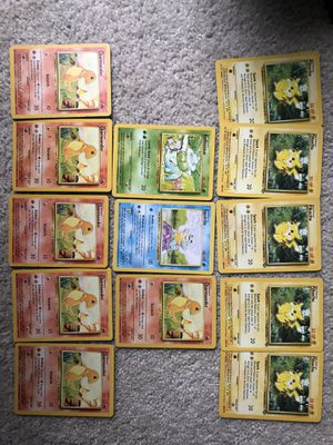 Lot of 13 Pokemon Starters !!! for Sale in Kent, WA
