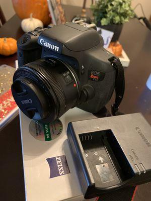 Canon t6i for Sale in Escondido, CA