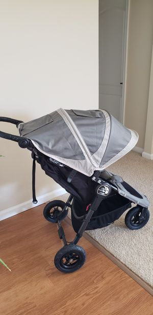 City Mini GT by Baby Jogger Stroller - Grey for Sale in San Mateo, CA