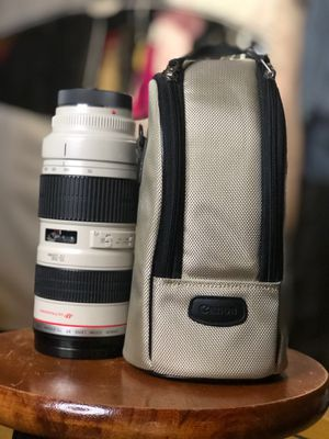 Canon EF 70-200mm f2.8 L lens for Sale in Burbank, IL