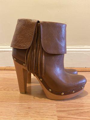INC fringed heel bootie for Sale in Philadelphia, PA