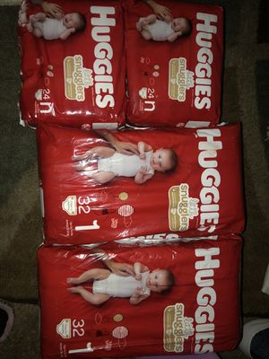 Huggies Diapers for Sale in Tacoma, WA