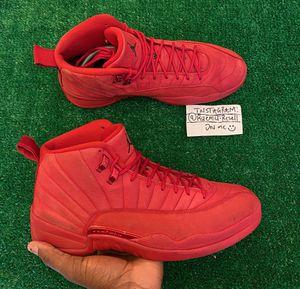 Jordan 12 Red SZ 12 for Sale in Marietta, GA
