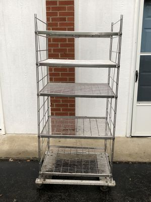 Stainless Foodservice rack shelf on wheels for Sale in Murfreesboro, TN