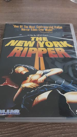 The New York Ripper (DVD Horror) for Sale in Gaithersburg, MD
