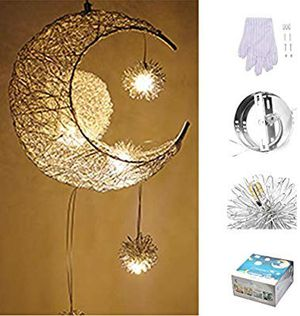Moon LED hanging lamp modern for Sale in Chino, CA
