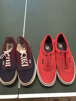 Vans men's for Sale in Boca Raton, FL