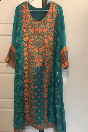 Pakistani embroidered dress for Sale in Rochester, MN