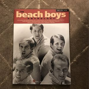 Beach Boys Anthology For Piano Guitar Vocal for Sale in Bellevue, WA