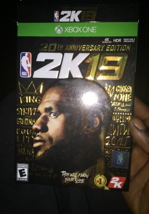 2k 19 Xbox one for Sale in St. Louis, MO