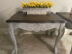 Farmhouse style end tables🌻🌻 for Sale in Stockton, CA
