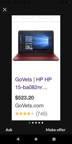 HP 15 Laptop PC for Sale in Glendora,  CA