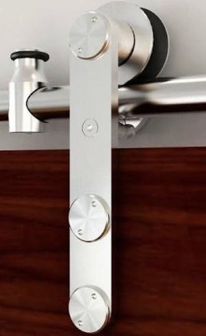 BARN DOOR HARDWARE STAINLESS STEEL for Sale in Las Vegas, NV