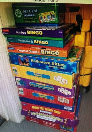 11 Games and Puzzles Ages 3-8 for Sale in Gilbert, AZ