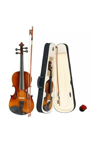 Perfect Acoustic Violin+Case+Bow Size 3/4 for Sale in San Francisco, CA