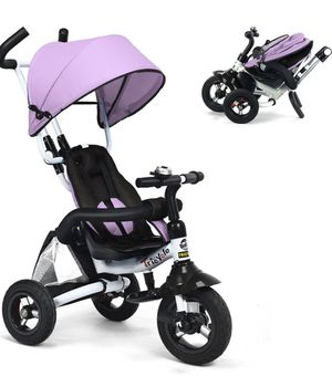 6-In-1 Kids Baby Stroller Tricycle Detachable Toddler Toy Bike w/ Canopy Bag for Sale in Walnut, CA