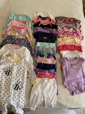 3-6 month girl clothing lot for Sale in Fairfax, VA