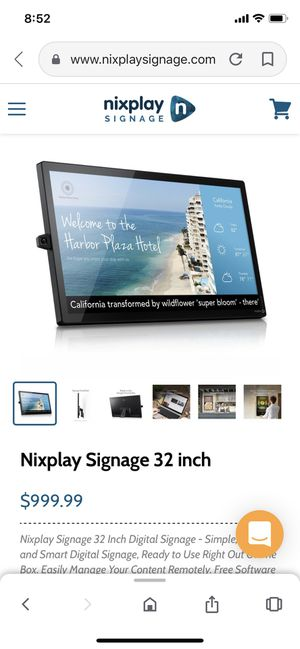 Nixplay Signage 32 inches for Sale in San Diego, CA
