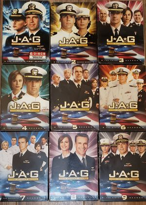 Jag season 1 to 9 for Sale in Queens, NY