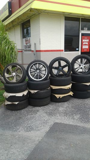 Wheels ,wheels any size for any vehicule for Sale in Orlando, FL