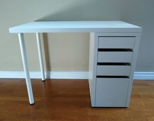 Ikea Micke Drawer Linnmon Table Desk Vanity Sewing for Sale in Los Alamitos,  CA
