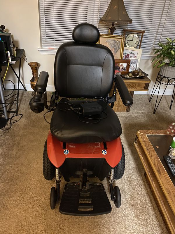 Wheelchair and is used