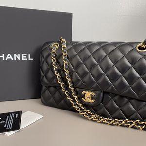 CHANEL LAMBSKIN DOUBLE FLAP MEDIUM BAG for Sale in Redondo Beach, CA
