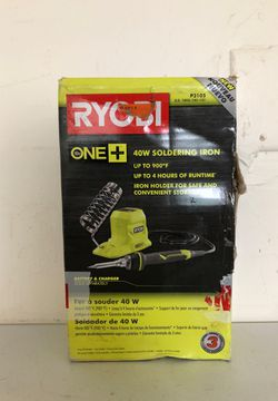 RYOBI 18-Volt ONE+ 40-Watt Soldering Iron (Tool-Only) for Sale in Bakersfield,  CA