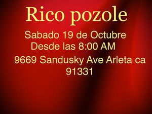 Rico pozole for Sale in Los Angeles, CA