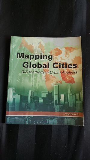 Mapping global cities book for Sale in Los Angeles, CA