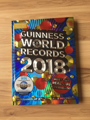 Guiness World Records Book 2018 for Sale in Portland, OR