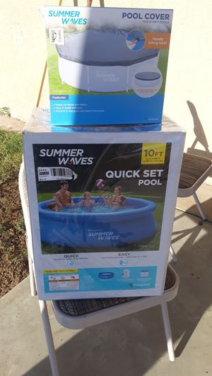 10ft family pool for Sale in Highland, CA