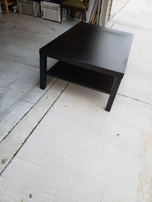 Ikea Black Coffee Table for Sale in Oak Park, IL
