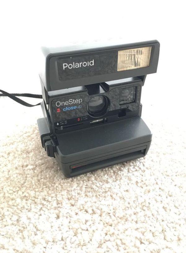 One Step Close Up Polaroid Camera